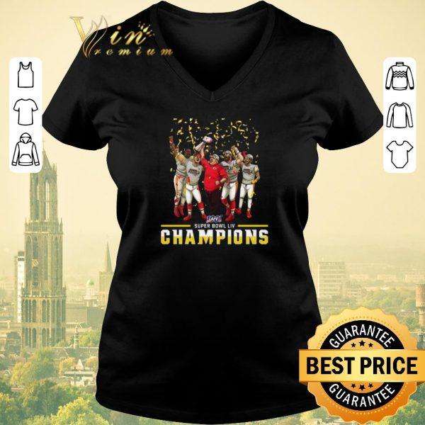 Pretty Super Bowl LIV Kansas City Chiefs Champions shirt