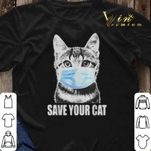 Save your cat coronavirus shirt sweater 2