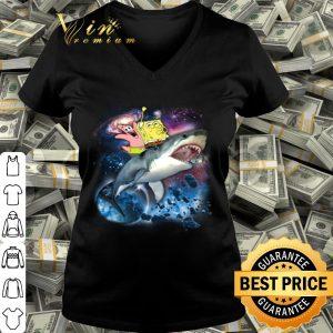 Spongebob SquarePants & Patrick Shark Riding shirt