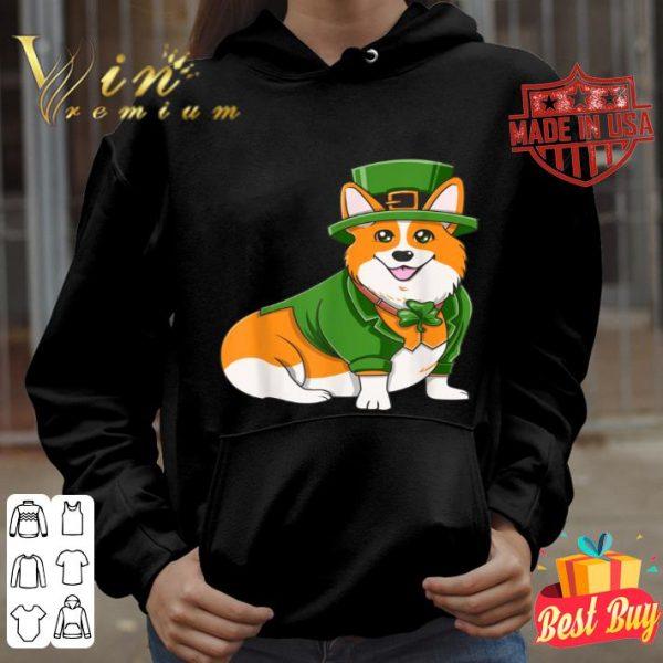 St Patricks Day Corgi Irish Dog Mama Mom Dad shirt