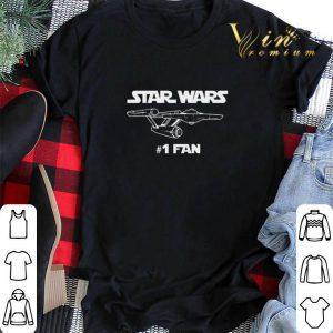 Star Wars #1 Fan mashup Star Trek shirt sweater