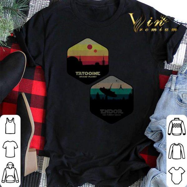 Tatooine Desert Planet Endor The Forest Moon shirt sweater