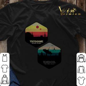 Tatooine Desert Planet Endor The Forest Moon shirt sweater 2