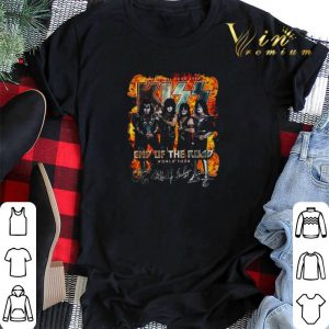The Final Tour Ever Kiss End Of The Road World Tour Signature shirt sweater 1