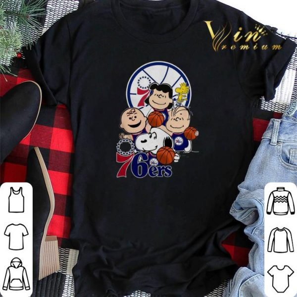 The Peanut Philadelphia 76ers shirt sweater