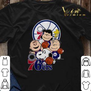 The Peanut Philadelphia 76ers shirt sweater 2