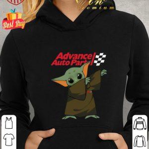 Top Dabbing Baby Yoda Mashup Advance Auto Parts Star Wars shirt 1