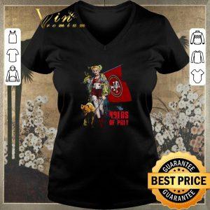 Top Harley Quinn Mashup San Francisco 49ers Of Prey shirt sweater