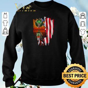 Top Jagermeister mashup American flag shirt sweater 2