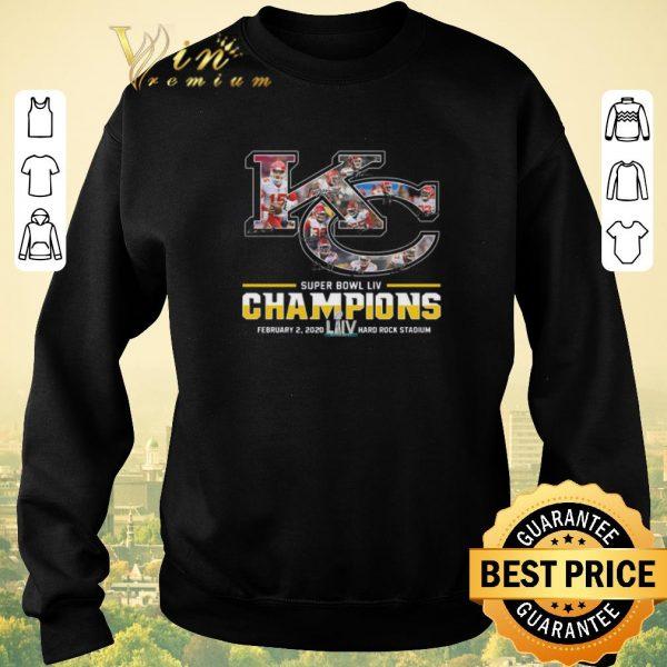 Top Kansas City Chiefs Super Bowl Liv Champions Hard Rock Stadium shirt sweater