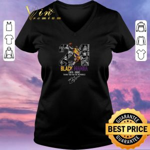 Top Kobe Bryant 24 Rest In Peace Black Mamba 1978 2020 thank you for the memories signed shirt sweater 1