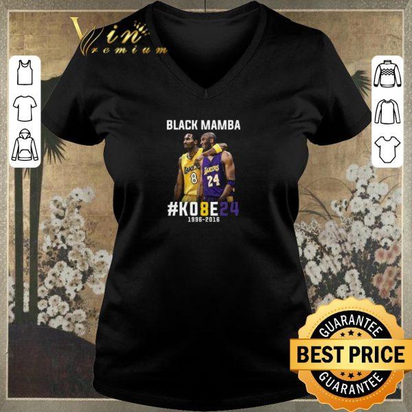 Top Kobe Bryant Black Mamba K08E24 1996 - 2016 Los Angeles Lakers shirt sweater