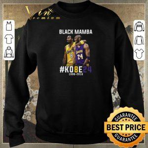 Top Kobe Bryant Black Mamba K08E24 1996 - 2016 Los Angeles Lakers shirt sweater 2