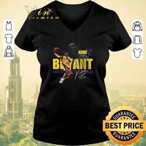 Top Kobe Bryant Los Angeles Lakers Thank U For So Thrilling Memories shirt sweater 1