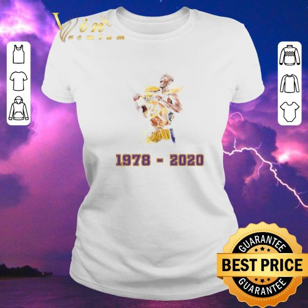 Top Lakers 24 Kobe Bryant 1978 - 2020 Los Angeles Lakers shirt sweater