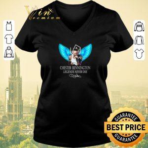 Top RIP Chester Bennington Legends Never Die signature Linkin Park Logo shirt sweater 1