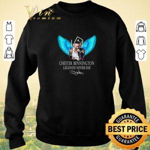 Top RIP Chester Bennington Legends Never Die signature Linkin Park Logo shirt sweater 2