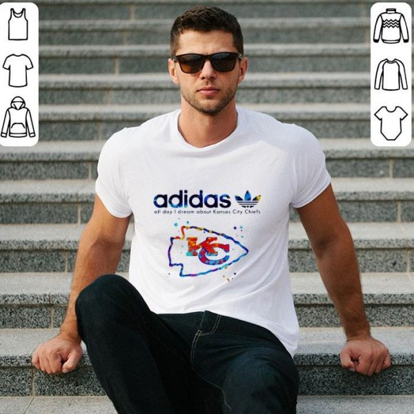 Top adidas all day i dream about Kansas City Chiefs Champions shirt