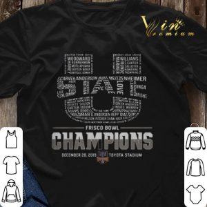 Utah State Frisco Bowl Champions Logo shirt sweater 2