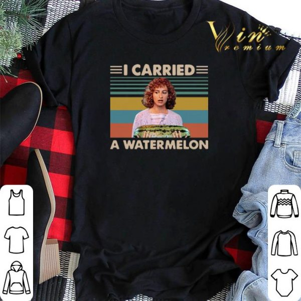 Vintage I Carried A Watermelon Dirty Dancing shirt sweater