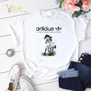 addicted adidas all day i dream about horse shirt sweater