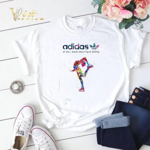 adidas all day I dream about Figure Skating shirt sweater