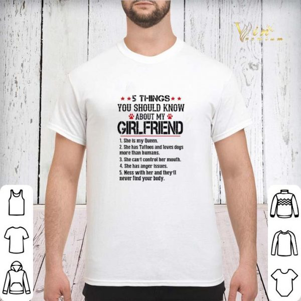 5 things you should know about my girlfriend shr is my queen shirt sweater