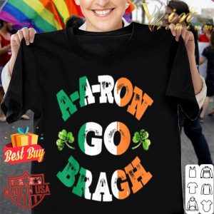 Aaron Erin Go Bragh Shamrock St.Patrick's Day T-shirt