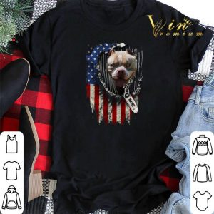 American Bully name American flag shirt sweater