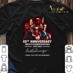 Arnold Schwarzenegger 50th anniversary 1970-2020 The Terminator shirt sweater 2