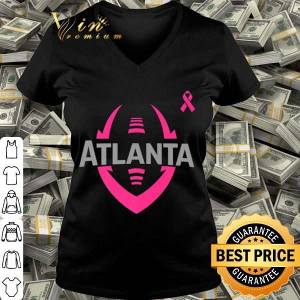 Atlanta Football Breast Cancer Awareness shirt