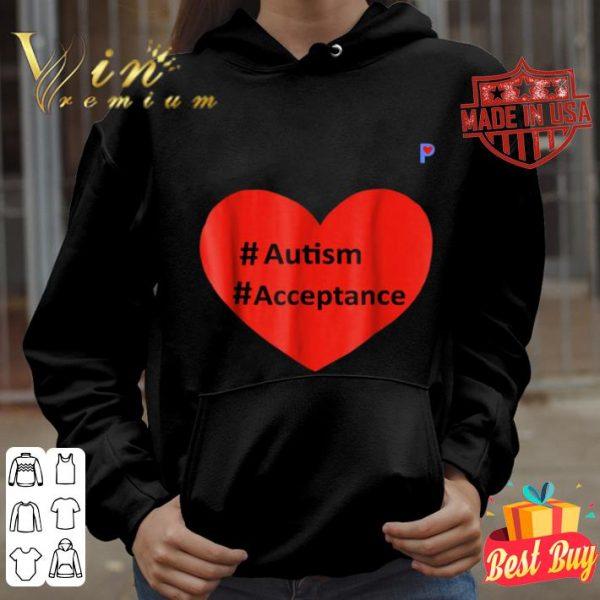 #Autism #Acceptance shirt