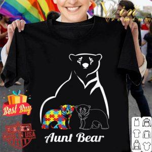 Autism Awareness Aunt Bear Gift shirt