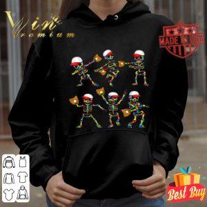 Autism Awareness Funny Dancing Skeletons Baseball Dance Gift shirt