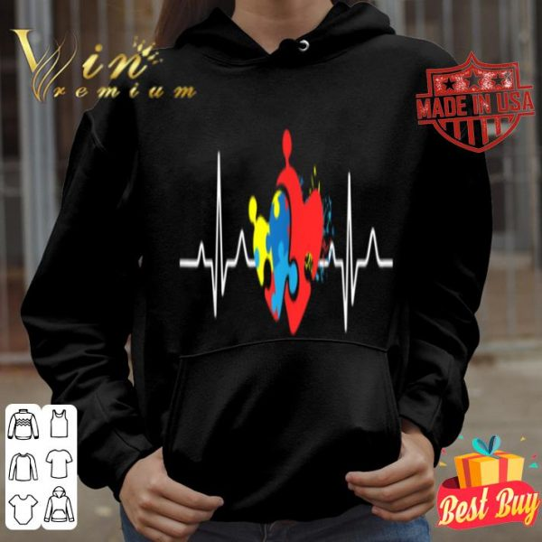 Autism Awareness Heartbeat shirt
