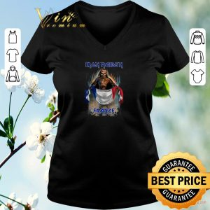 Awesome Iron Maiden France flag shirt sweater 1