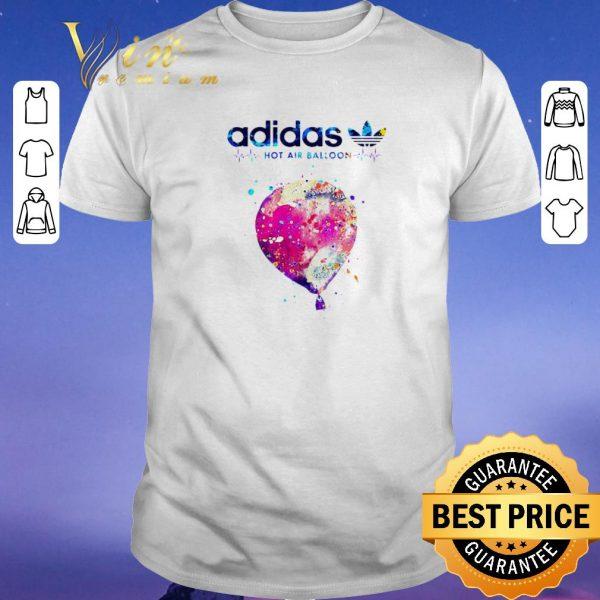 Awesome Logo Adidas Hot Air Balloon Heartbeat shirt sweater