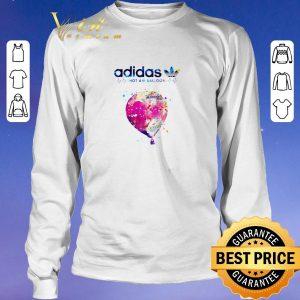 Awesome Logo Adidas Hot Air Balloon Heartbeat shirt sweater 2