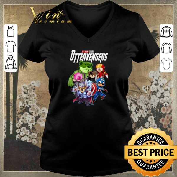 Awesome Marvel Otter Ottervengers Avengers Endgame shirt sweater