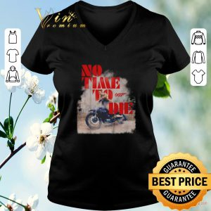 Awesome No time to die 007 poster shirt sweater 1