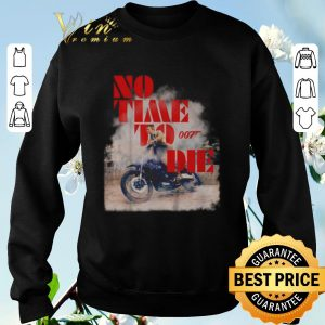 Awesome No time to die 007 poster shirt sweater 2