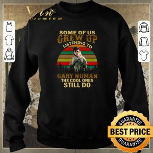 Awesome Some of us grew up listening to Gary Numan the cool ones still do vintage shirt sweater 2