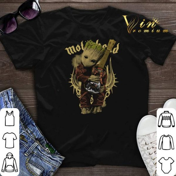 Baby Groot Hug Motorhead Guitar Marvel shirt sweater