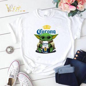 Baby Yoda Hug Corona Extra Beer shirt sweater 1