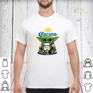 Baby Yoda Hug Corona Extra Beer shirt sweater 2