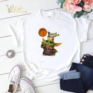 Baby Yoda mashup Black Mamba King Bryant 24 shirt 1