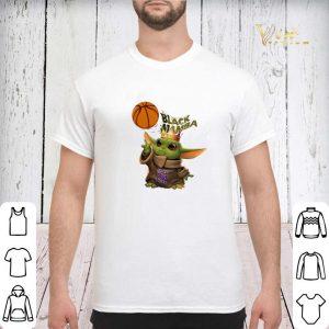 Baby Yoda mashup Black Mamba King Bryant 24 shirt 2