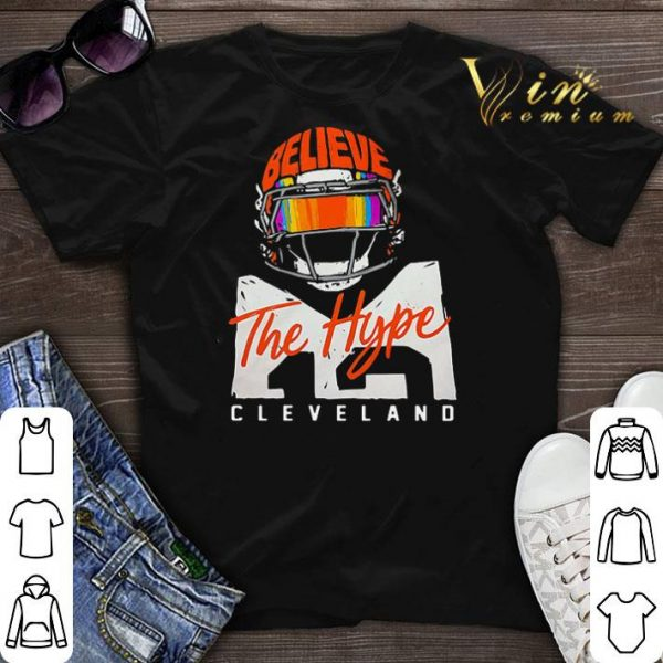 Believe The Hype Cleveland Browns shirt sweater