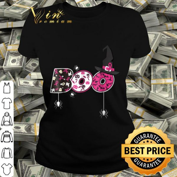 Breast Cancer Awareness Boo Halloween shirt