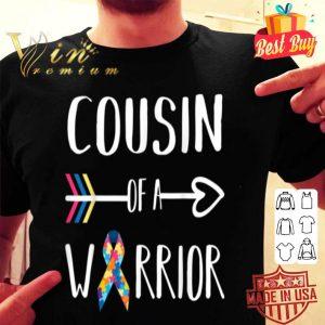 Cousin Of A Warrior Shirt Autism Awareness Shirt shirt